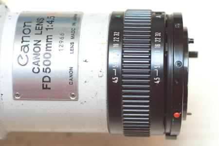 Markus Keinath - Canon FD 500 f/4 5 L converted to EF mount