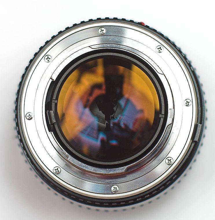Markus Keinath Conversion Of A Minolta Mc Rokkor 58mm 1 2 To Canon Eos Dslr