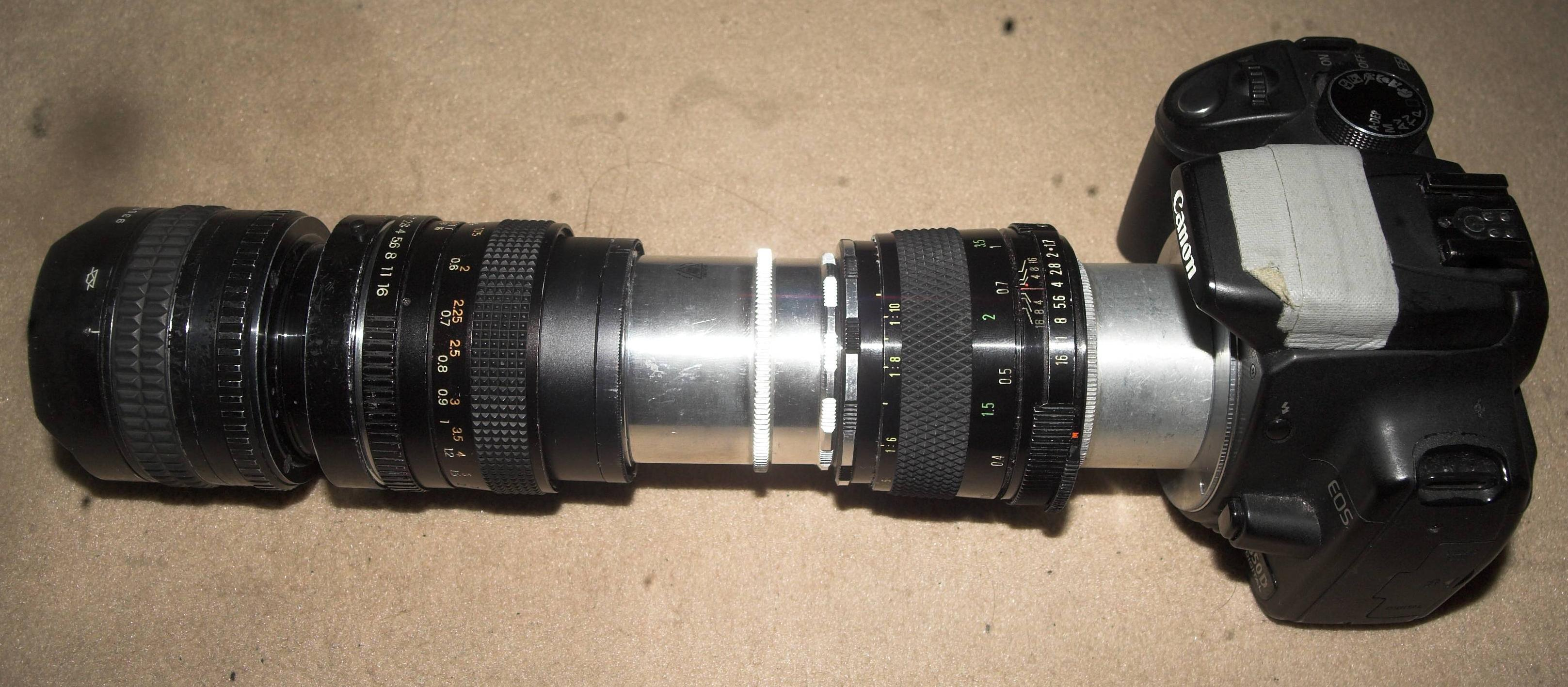 Markus Keinaths Photohomepage - Camera Objektiv Format Adaption